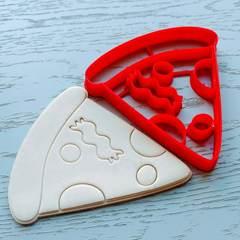Кусочек пиццы форма для пряника