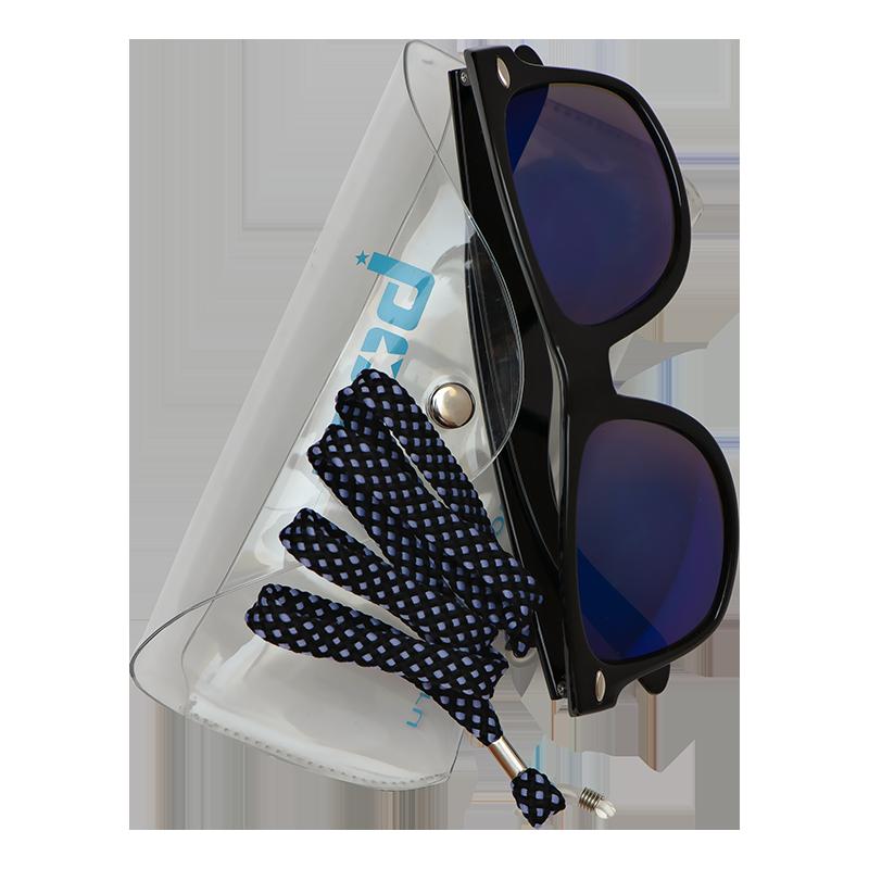 Очки MOD Funky Black/Blue Mirror Lens