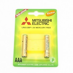 Батарейки MITSUBISHI AAA LR03G Alkaline - LR-03-M