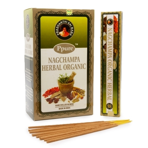 Индийские палочки Ppure NagChampa Herbal Organic