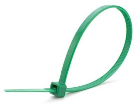 Хомуты нейлоновые 2,5х100мм (зеленый) (25 штук) TDM