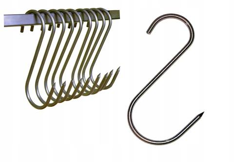 Крюк S-образный для подвешивания мяса (D-10 мм, H-210)