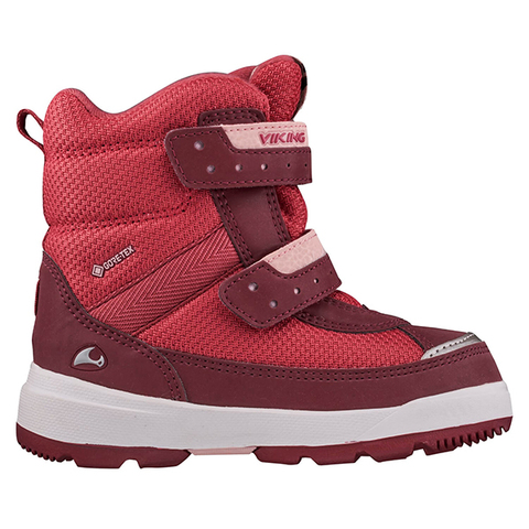 Ботинки Viking Play II R GTX Dark Red/Light Pink