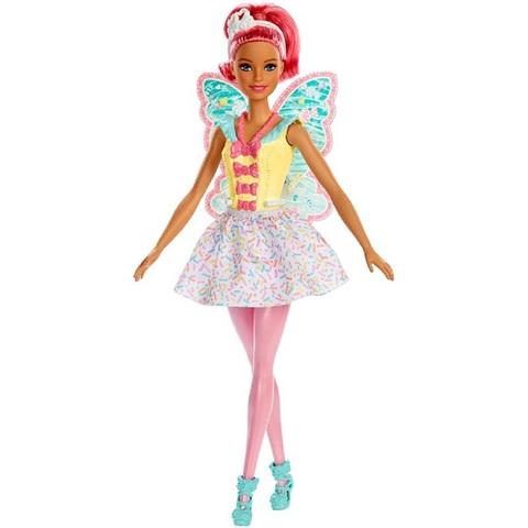Барби Дримтопия Фея с Голубыми Крыльями