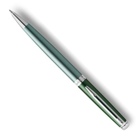 Шариковая ручка Waterman Hemisphere (2118284) Vineyard Green Mblue