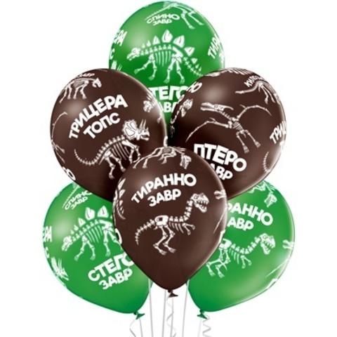 Воздушные шары Динозаврики