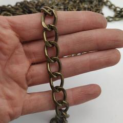 Цепь металлическая 11*16 мм, под  антик (цена за 1 м)