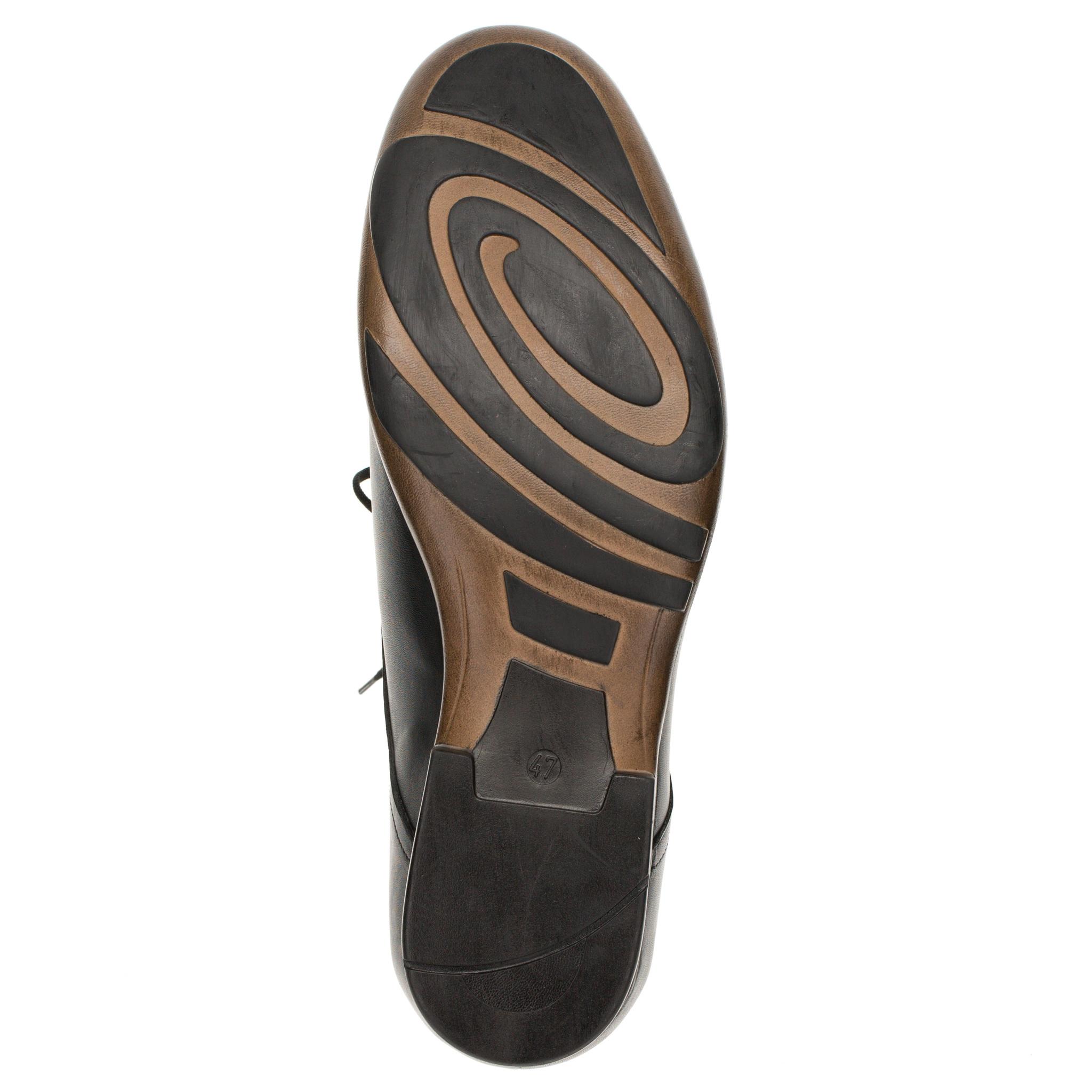 498280 туфли мужские больших размеров марки Делфино