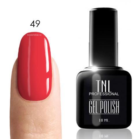 TNL Classic TNL, Гель-лак № 049 - неоново-розовый (10 мл) 49.jpg
