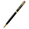 Parker Sonnet Core - Matte Black GT SLIM, шариковая ручка, M, BL