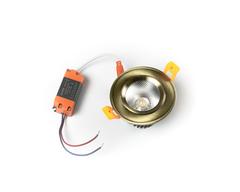 светильник точечный L8809COB-5W-Bronze
