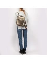 Рюкзак натуральная кожа.Бронзового цвета