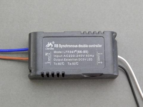 Драйвер LED 66-80 для трёхцветных диодов