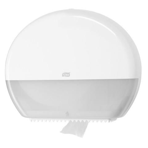 Диспенсер для туалетной бумаги в рулонах Tork Elevation Т1 554000 пластиковый белый