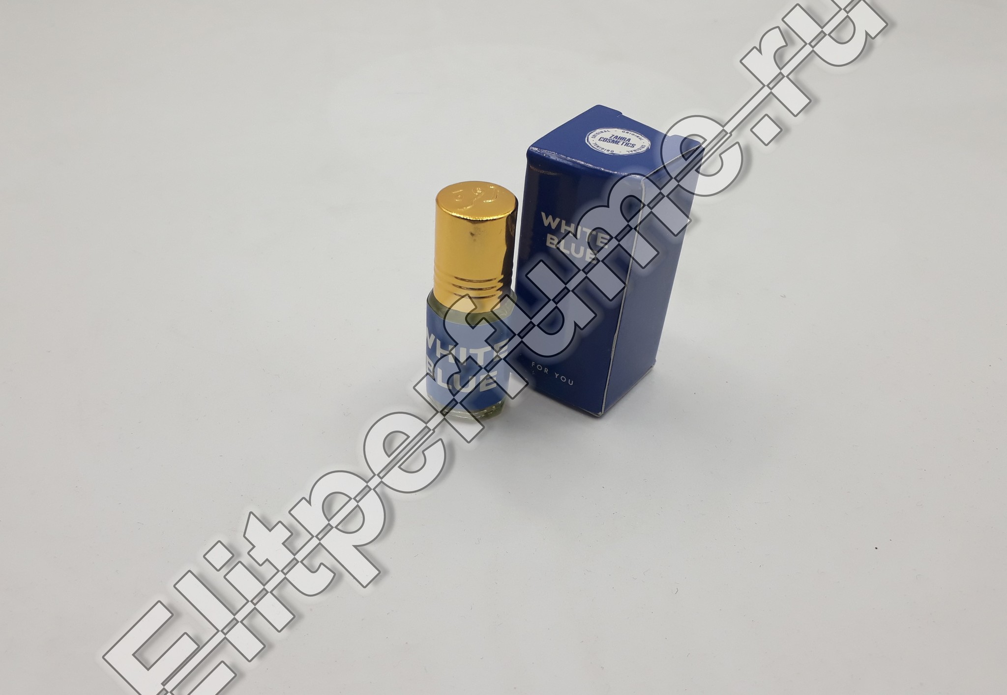 For You White Blue 3 мл арабские масляные духи от Захра Zahra Perfumes