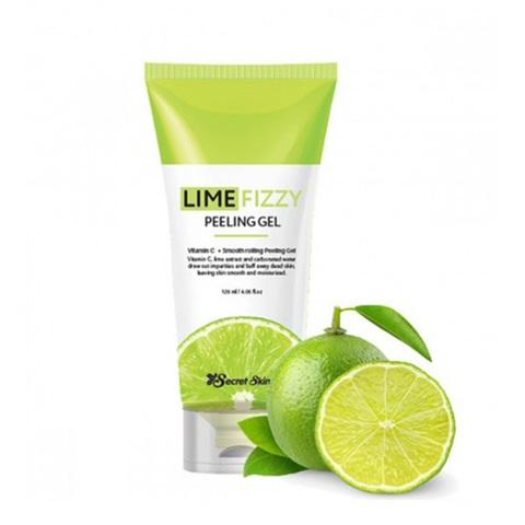 Secret Skin Lime Fizzy Peeling Gel гель-скатка с экстрактом лайма
