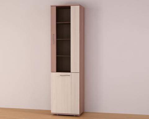 Шкаф Мадера- витрина-2/650*1884*407/ правый