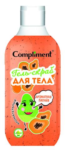 Compliment Гель-скраб для тела «Ароматная папайя»
