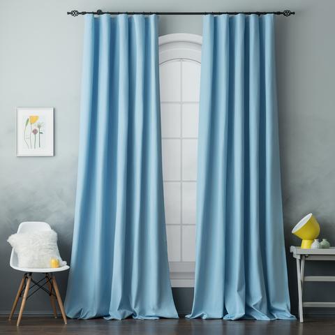 Комплект штор хлопок Эмми голубой