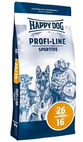 купить Happy Dog Profi-Line Adult Sportive 26/16 сухой корм для собак с повышенными потребностями в энергии 20 кг
