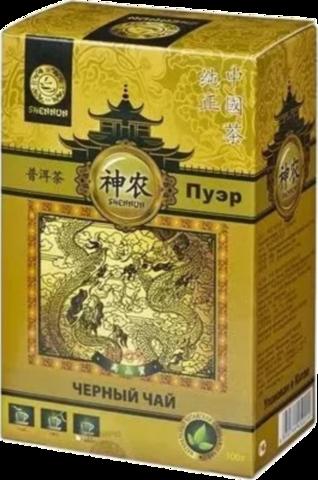 Чай пуэр Shennun 100 г