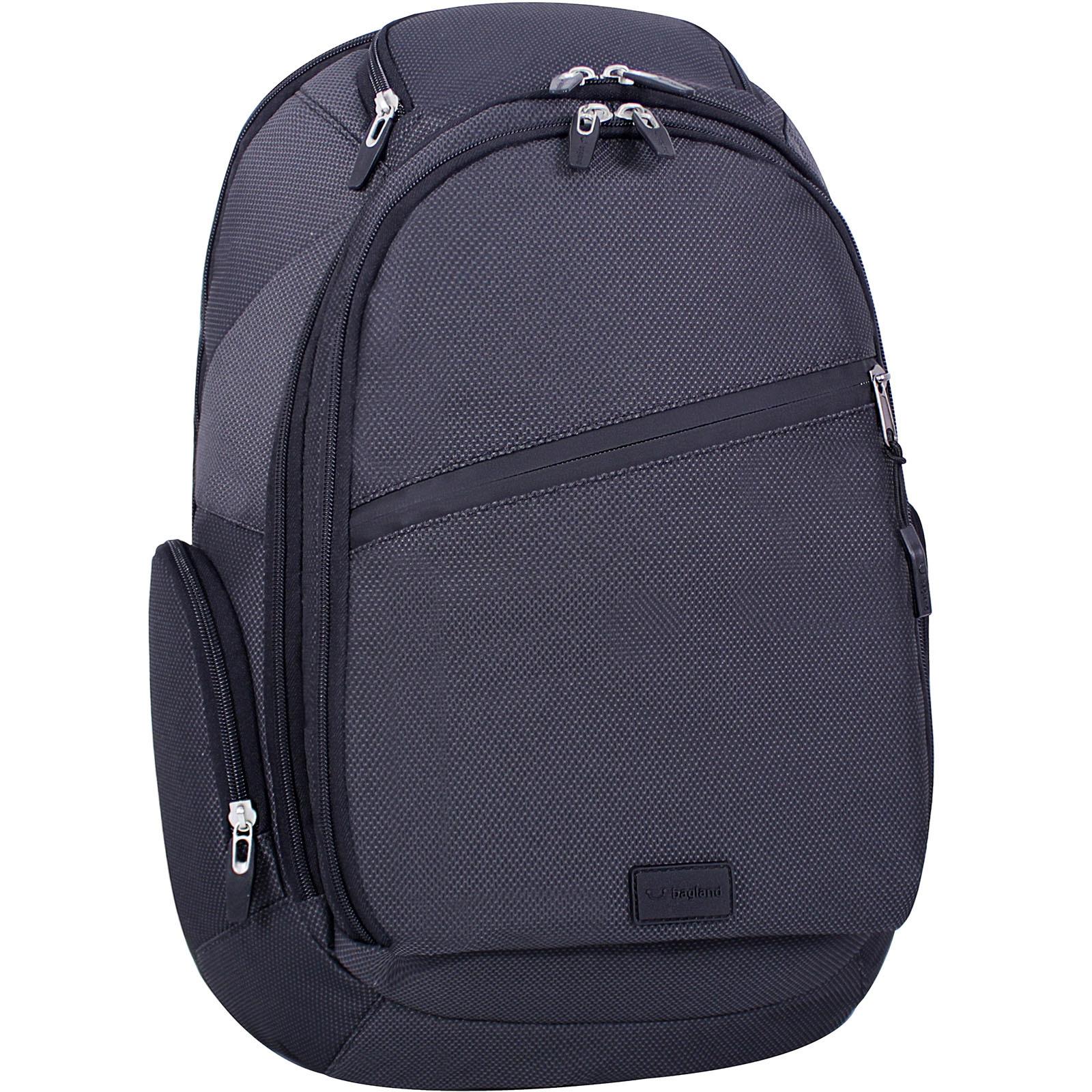 Рюкзаки для ноутбука Рюкзак для ноутбука Bagland Tibo 23 л. Чёрный (00190169) IMG_3313.jpg