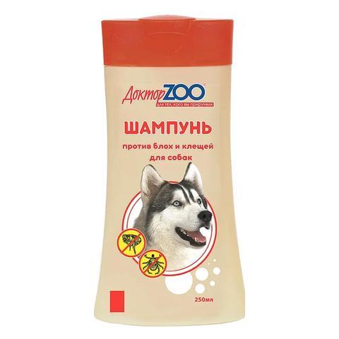 Шампунь Доктор Зоо для собак от блох 250 мл