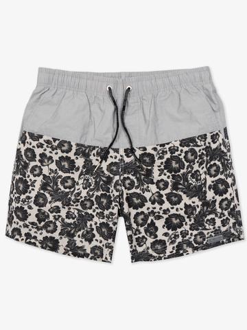 "Swim shorts ""Light grey khokhloma"""
