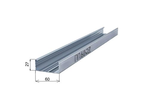 Металлический профиль стоечный ПП - 60x27 мм