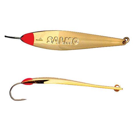 Блесна вертикальная Lucky John MODEL S-1 c впаянным крючком, 1.5г, цвет G, 8374-G