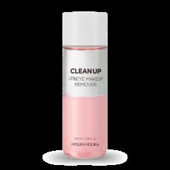 Средство для снятия макияжа HOLIKA HOLIKA Clean Up Lip & Eye Makeup Remover 100ml