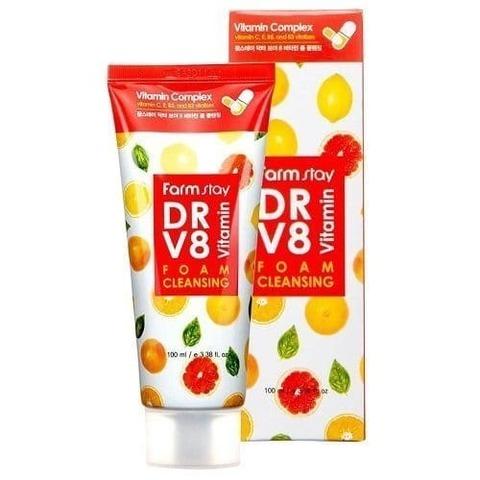 Витаминная пенка для очищения кожи DR.V8 Vitamin Foam Cleansing