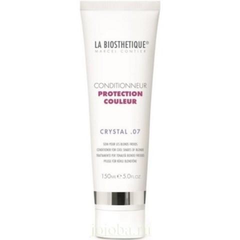 La Biosthetique Protection Couleur: Кондиционер для окрашенных волос (холодные оттенки блонда) (Conditrionner Protection Couleur Crystal 07), 150мл
