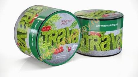 Кальянная смесь Trava - Можжевельник, Брусника, Мята