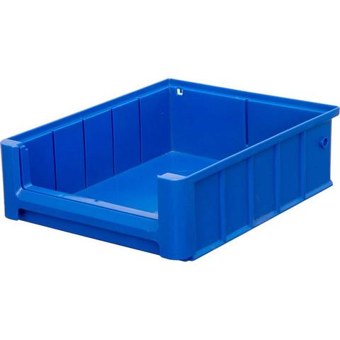 Контейнер полочный SK 3209 сплошной, 300 х 234 х 90 синий