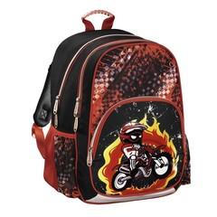 Рюкзак Hama MOTORBIKE черный/красный