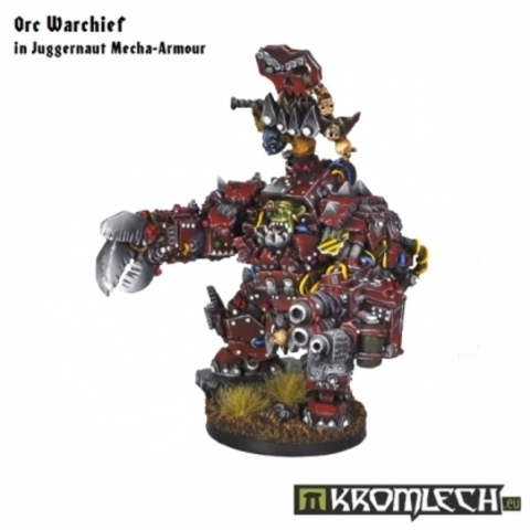 Orc Warchief in Juggernaut Mecha-Armour (1)