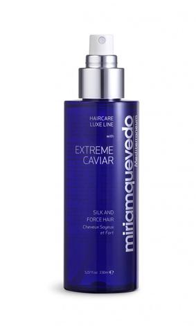 Оживляющий спрей для волос с протеинами шелка и экстрактом черной икры / Miriamquevedo Extreme Caviar Silk and Force Hair