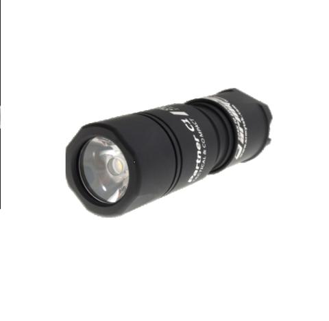 Фонарь Armytek Partner C1 v2 (тактич.)(Белый свет) XM-L2 720 лм. 40 м 1xCR123A/18350 без батареек