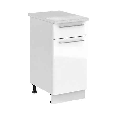 Кухня Капля 3D Шкаф нижний С1Я 400