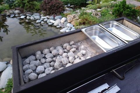 Мангал теплоизолированный Smaga готов к приему продуктов!