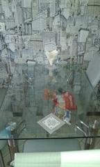 Прозрачная защита на стеклянном столе толщина 1 мм