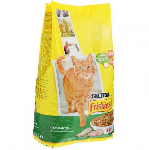 Корм Friskies для кошек Зоотовары 1кг