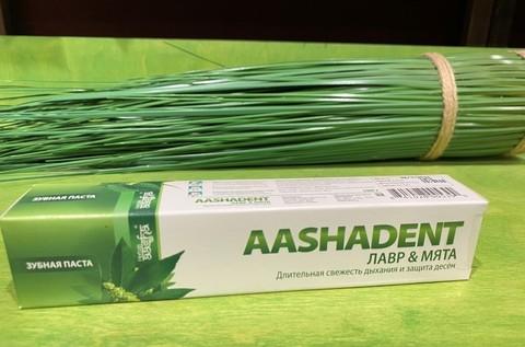 Зубная паста Лавр/Мята AASHA HERBALS 100мл