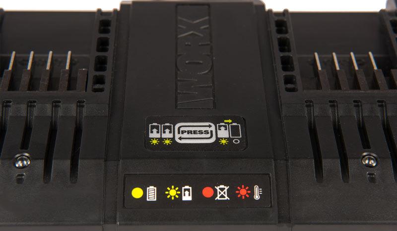 Двойное зарядное устройство WORX WA3869 20В