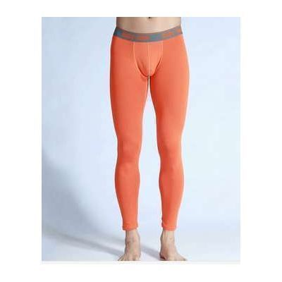 Кальсоны мужские оранжевые Good Men Wear Long Johns