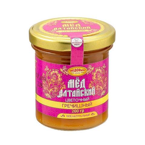 Гречишный алтайский мёд 200 г