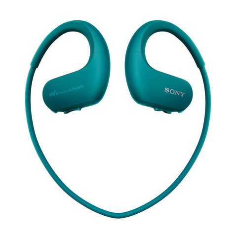 NW-WS623L спортивный плеер Sony, 4 ГБ, цвет Синий