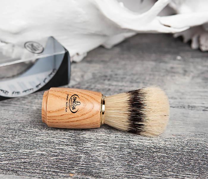 RAZ11150 Помазок из щетины кабана с деревянной ручкой фото 03