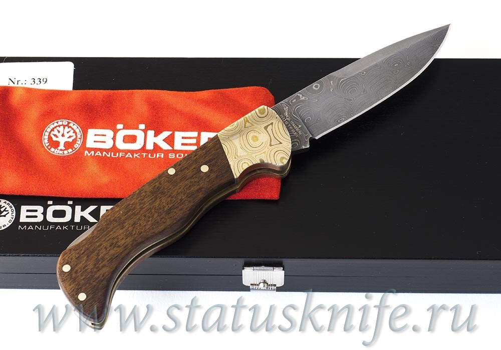 Нож Bоker Mokume Damast 110141 - фотография